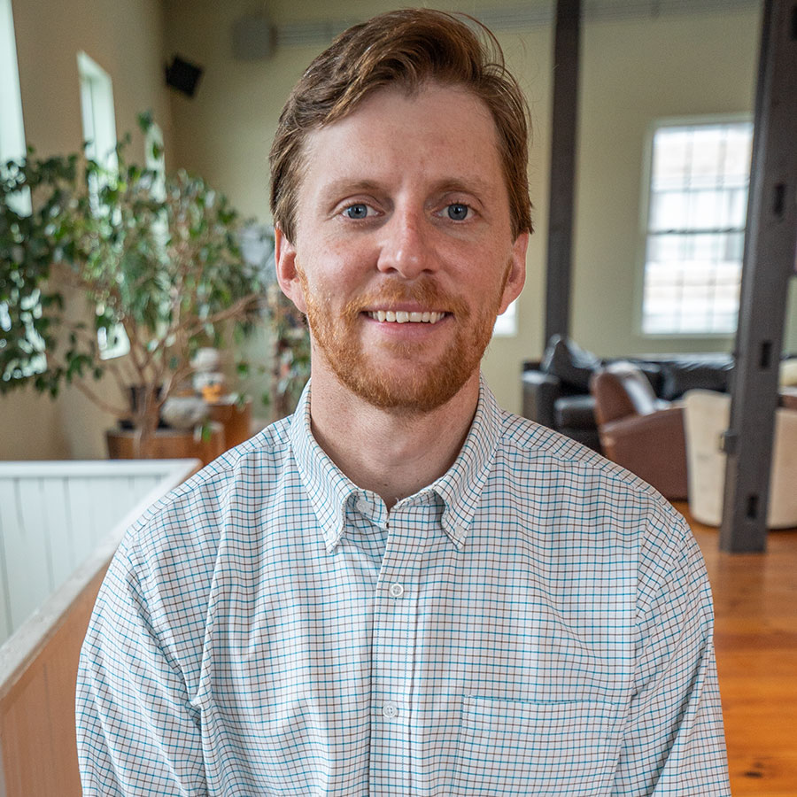 A photo of Daniel Schmader, Program Manager and Adventure Therapist at Foundation House